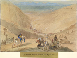 The second descent from the Khojak Pass (Baluchistan)